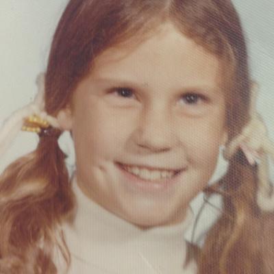 Childhood photo of Jacque Anthony.