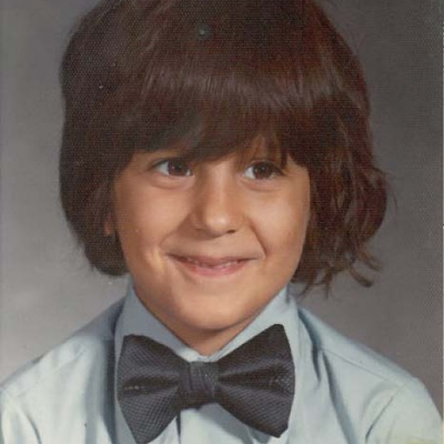 Childhood photo of BrandFuel CEO Danny Rosin.