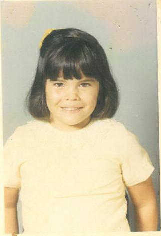 Childhood photo of LaNell Jones.