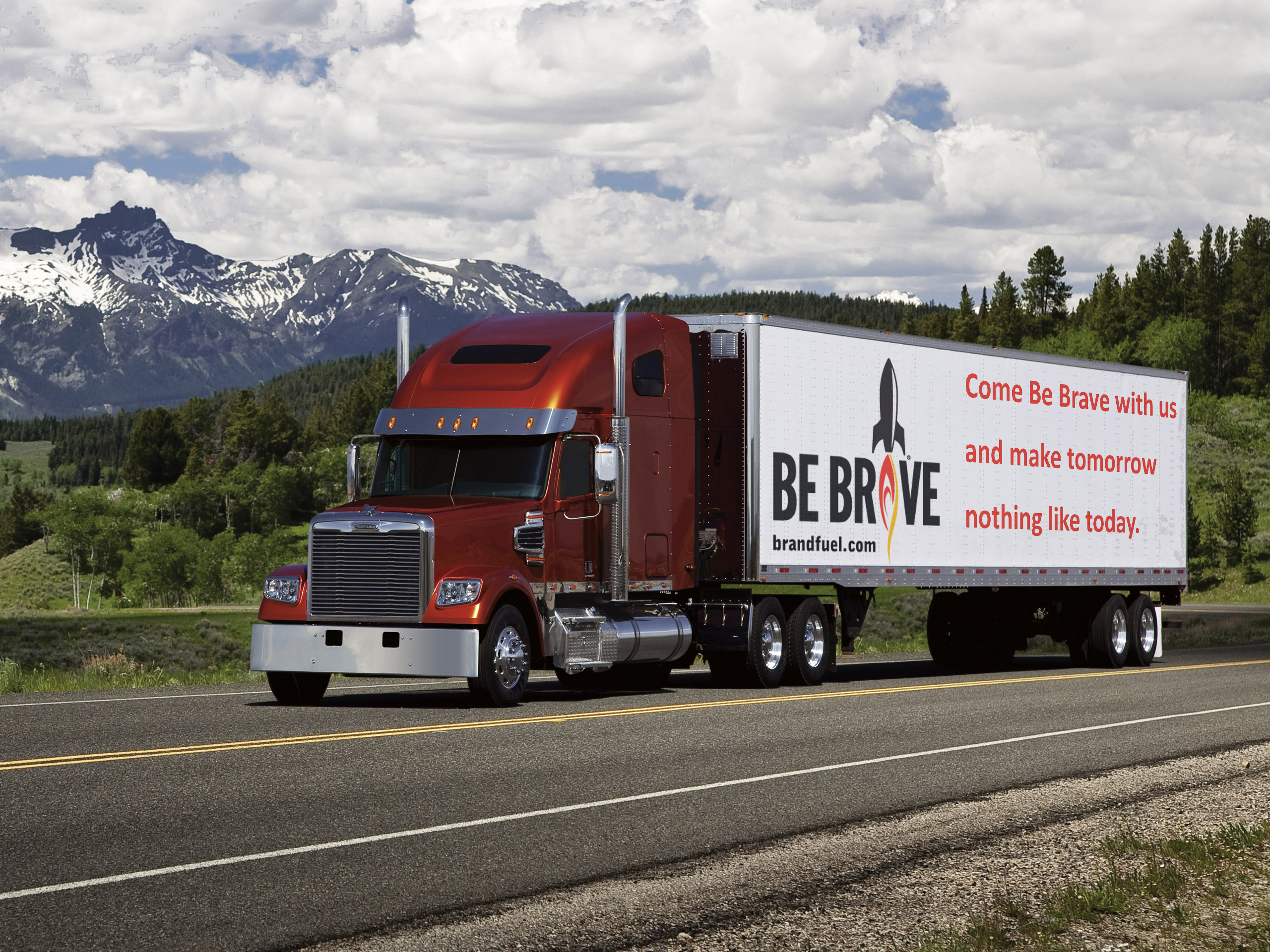 Be Brave Truck