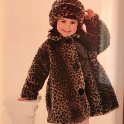 Childhood photo of Olivia Loevner.