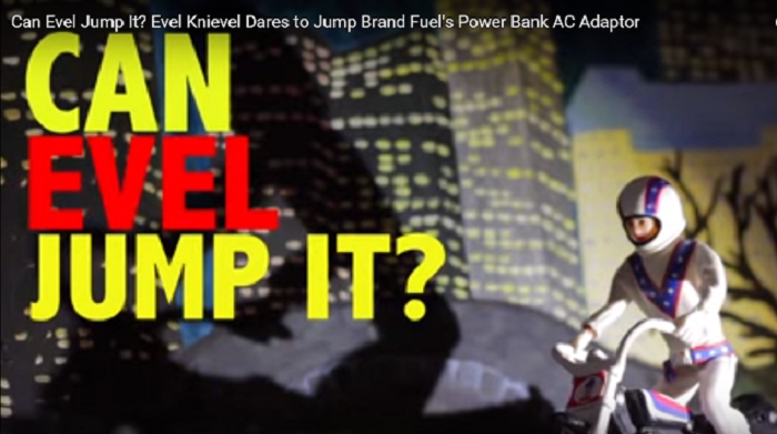 Product Video Can Evel Jump It