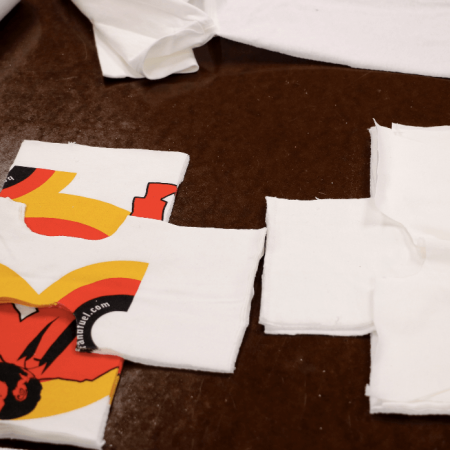 An old Brand Fuel logo getting ready to be repurposed.