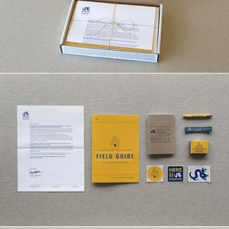 """A """"Thank You"""" kit for volunteers and supporters."""