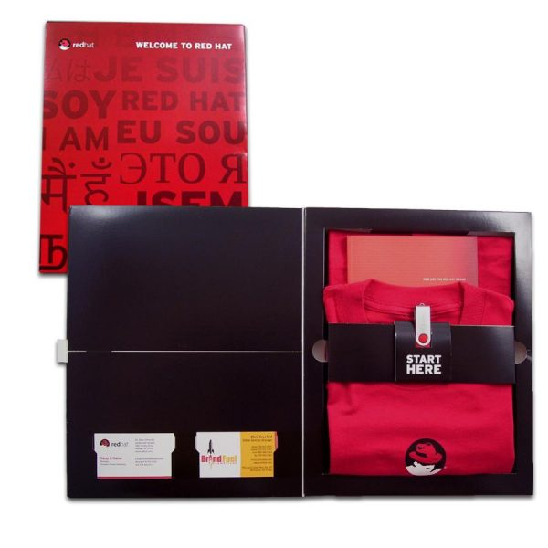 New employee welcome kit for Red Hat