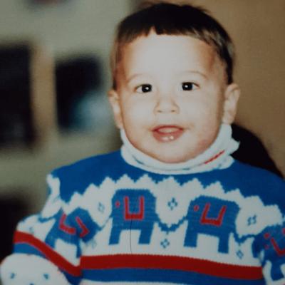Childhood photo of Jesse Guidry.