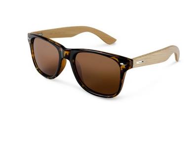 Wooden sunglasses.