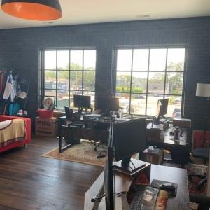 BrandFuel's Virginia office working space
