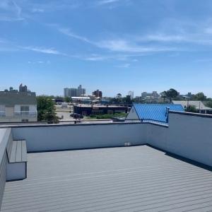 BrandFuel's Virginia office rooftop patio