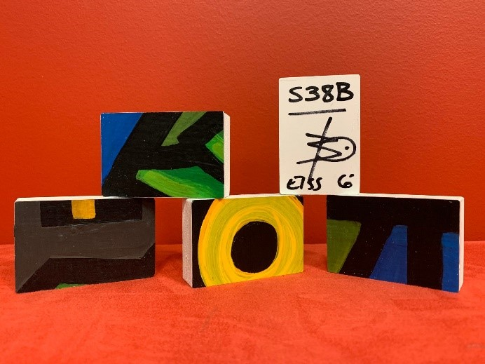 Finished art blocks sent to BrandFuel clients.